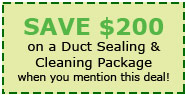 save duct sealing cleaning